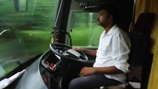 SRS VOLVO B11R cruising @Mumbai pune expressway-driven by harish!!!!