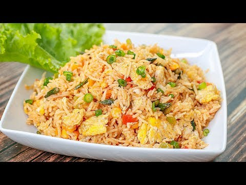 Egg Fried Rice | Restaurant Style Egg Fried Rice | Egg Fried Rich Chinese Style | Toasted
