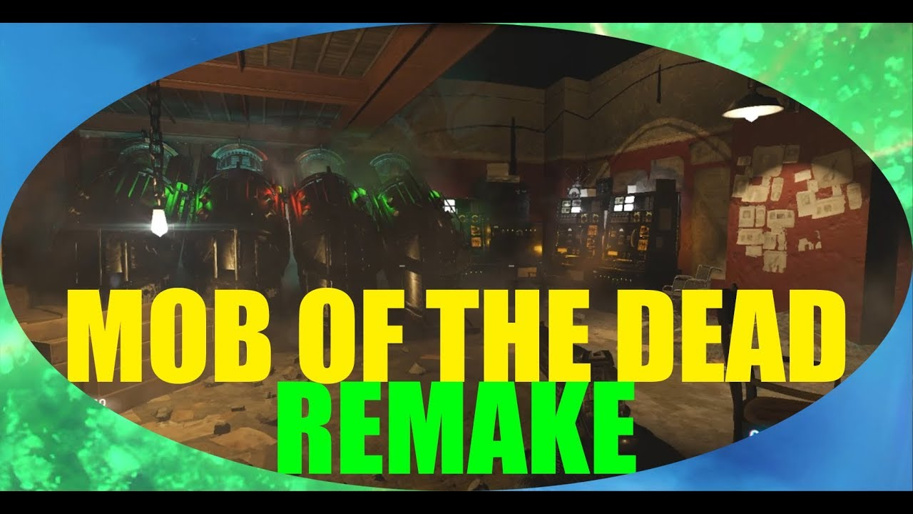 MOB of the DEAD REMAKE  Exploration Custom Map  YouTube