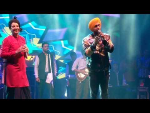 Diljit Dosanjh & Gurdas Maan Ki Banu Duniya Da Live Delhi