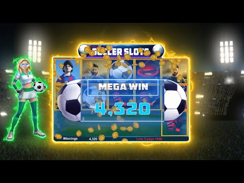 INSANE $4320 MEGA WIN | BIGGEST PAYOUT | SOCCER SLOTS |