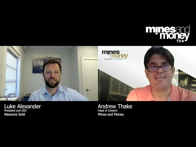 Mines and Money TV - Luke Alexander, President and CEO of Newcore Gold