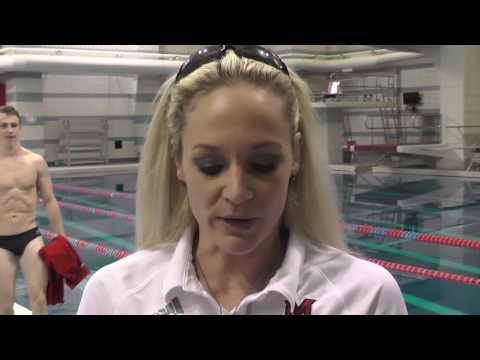 Miami Swimming & Diving Post Miami Invite Interview - 12/3/2016