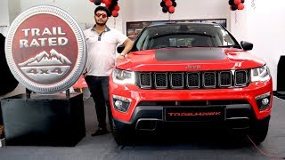 Jeep Compass Trailhawk | Compass Trailhawk Detailed Review,Features,Price,Off Road