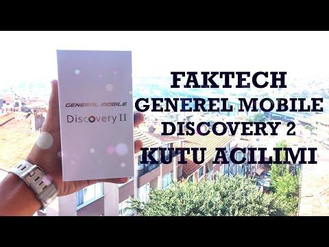 General Mobile Discovery 2 kutu açılımı