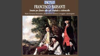 Recorder Sonata in C Minor, Op. 1, No. 4: III. Siciliana: Largo