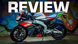 Aprilia RS 125 GP Replica Full Review! Unreal 125cc *Sports Bike*!