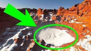 La Scoperta Di Ghiaccio Su Marte Potrebbe Indicare che C'è Vita sul Pianeta Rosso!