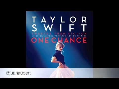 """Sweeter Than Fiction (From """"One Chance"""") - Taylor Swift"""