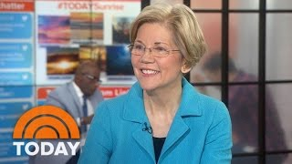 Elizabeth Warren On Jon Ossoff Campaign, President Trump, If She'll Run For President | TODAY