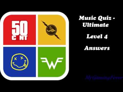 Music Quiz - Ultimate : Level 4 Answers