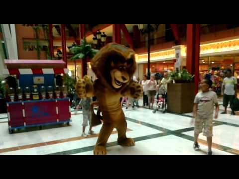 Alex The Lion Dancing At Holiday Village Costa Del Sol