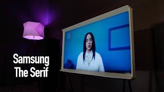 Samsung The Serif. Самый оригинальный 4К TV + Конкурс