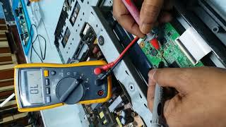 SONY 26 quot LCD VERTICAL LEFT SIDE VERTICAL BAR PROBLEM SOLVE