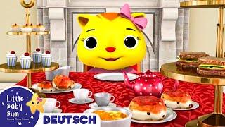 Kätzchen, mein Kätzchen | Kinderlieder | Little Baby Bum Deutsch | Kinderreime Für Kinder