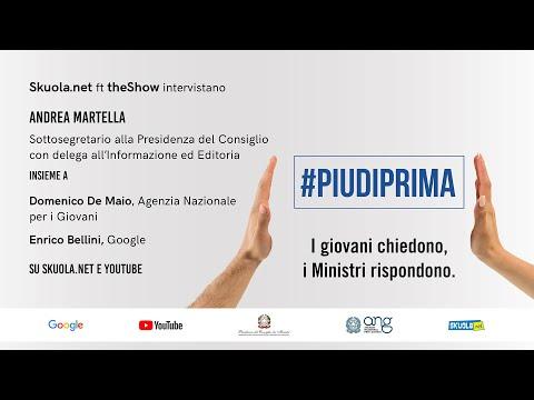#Piudiprima: i giovani chiedono, il sottosegretario Martella risponde – Skuola.net ft. theShow