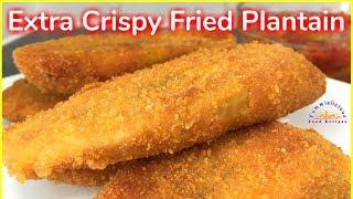 Extra Crispy Fried Plantain | How to Make Crispy Plantain | Yummieliciouz Food Recipes