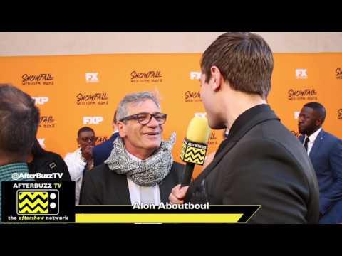 Alon Aboutboul   FX Snowfall Premiere