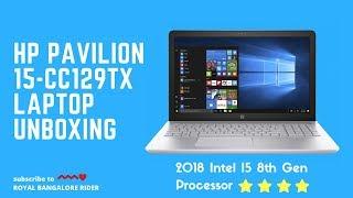 HP Pavilion 15-cc129tx laptop Unboxing || Best Laptop under 65000Rs || 2018 Edition