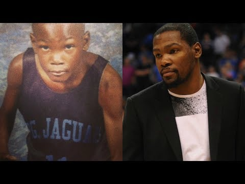 Kevin Durant transformation from 2 to 29 years old