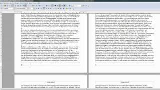 12 Kopf und Fusszeilen erstellen - OpenOffice / LibreOffice Writer