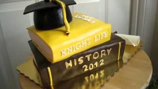 College Graduation Book Cake