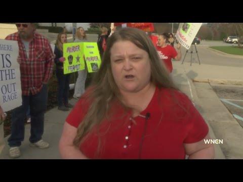Protest over John Livingston death