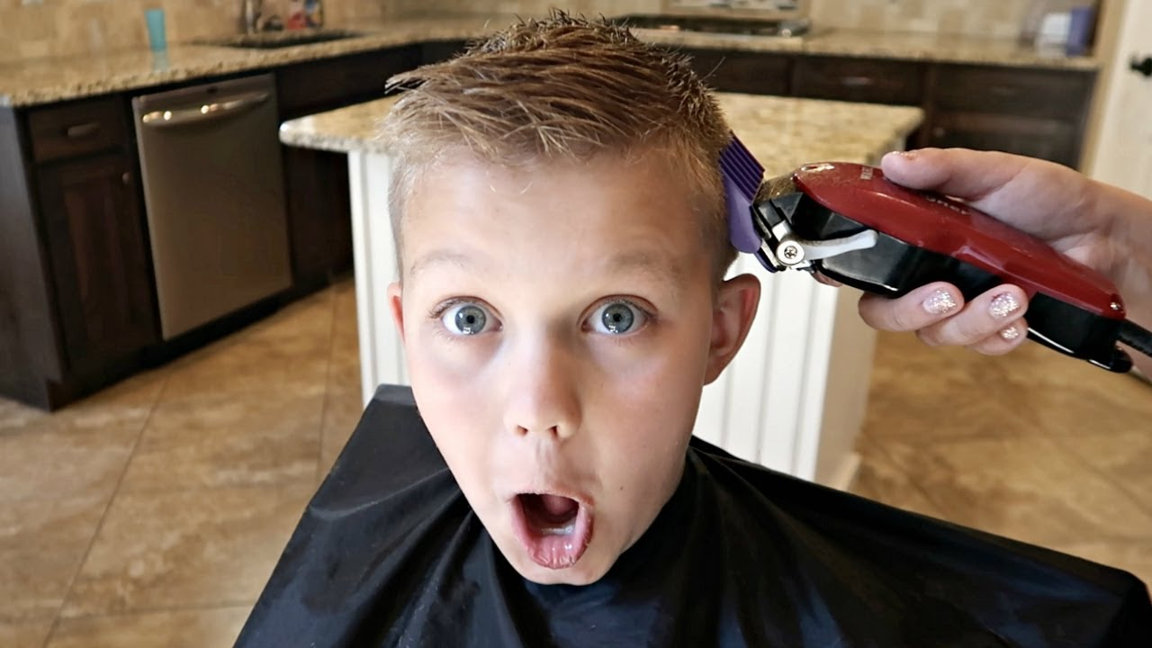 Back to school haircut