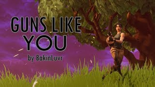 """Guns Like You"" - A Fortnite Parody of ""Girls Like You"" By Maroon 5 (Ft. Cardi B) 