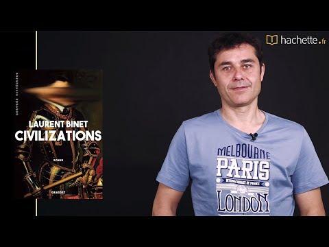 """Laurent Binet présente """"Civilizations"""" (Grasset)"""