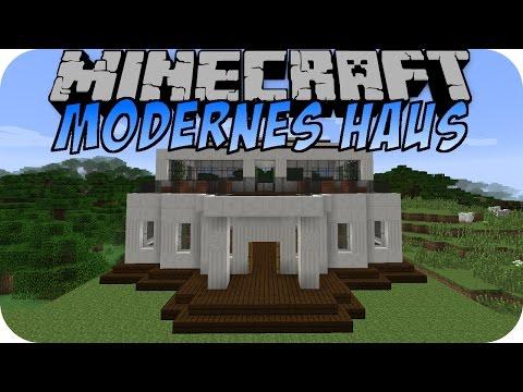 Minecraft haus moderne haus lernprogramm doovi for Minecraft modernes haus download