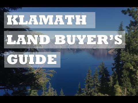 Land Buyers Guide To Klamath County