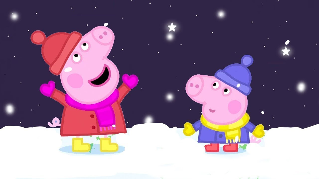 Peppa Pig Português Brasil | ❄️Peppa Neve ☃ HD | Desenhos Animados