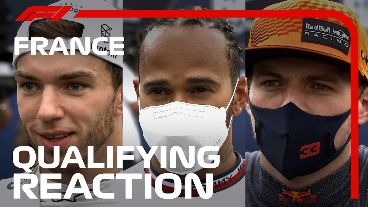 Drivers React After Qualifying | 2021 French Grand Prix