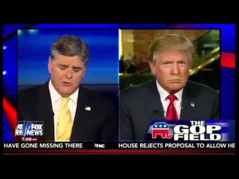 Donald Trump    Crippled America   Hitting Opponents 10 Times Harder Full Hannity Interview