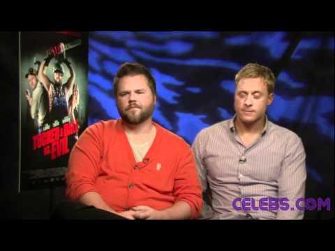 Celebs.com Original Interview: Tyler Labine & Alan Tudyk 'Tucker & Dale Vs. Evil'