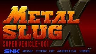 METAL SLUG X - SNK PLAYMORE Mission Final
