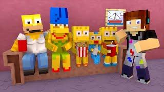 Minecraft: A CASA DOS SIMPSONS !! - Aventuras Com Mods #25