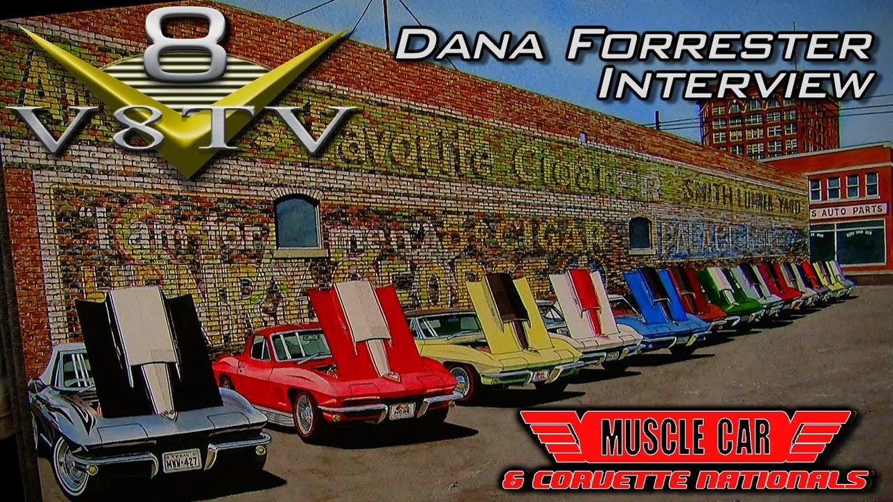 Dana Forrester S Muscle Car And Corvette Paintings Interview At
