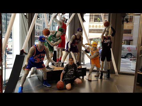 NBA STORE NYC 🏀🇺🇸🗽