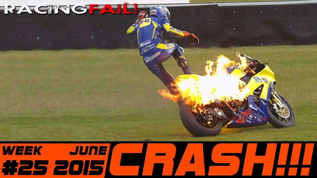 Racing And Rally Crash Compilation Week 25 June 2015