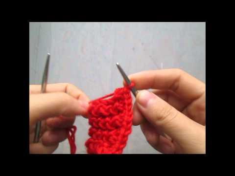 2 cách chiết khăn len