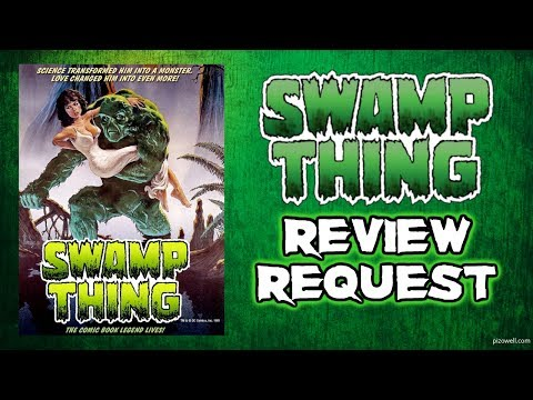 SWAMP THING (1982) - Movie/Blu-ray Review (Scream Factory)