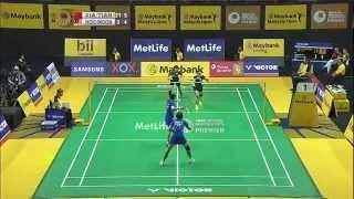 QF - 2015 Malaysia Open - Tian Qing/Xia Huan vs Vivian Hoo/Woon Khe Wei