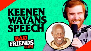 Street Jokes and Keenen Ivory Wayans Amazing Commencement Speech | Bad Friends Clips