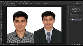 How  To Wear A Suit With Photoshop | Photoshop CS 6 | Suit Photo screenshot 4