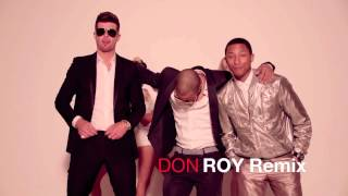 Robin Thicke - Blurred Lines ft. T.I., Pharrell (Don Roy Remix)