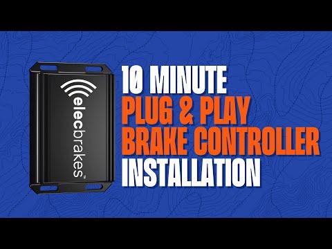 Elecbrakes installation: Easy
