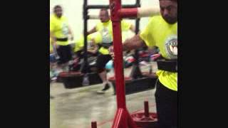 850LBS YOKE CARRY DOUG MADEWELL SHREVEPORT,LA HW PLATINUM PLUS STRONGMAN CONTEST