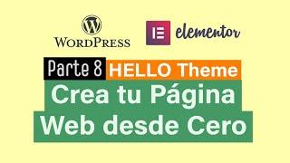 8/8 Curso WordPress DESDE CERO…